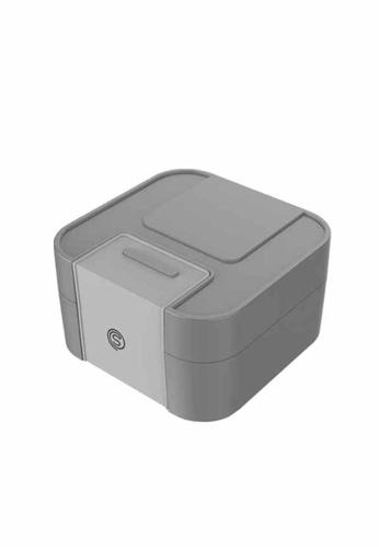 Slique grey Bento Lunch Box 1900 Ml 54F4CHL798CEDFGS_1