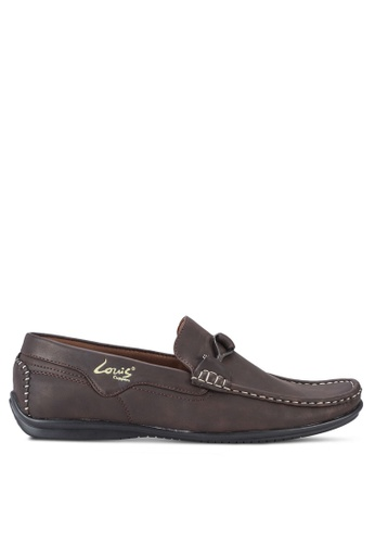 Louis Cuppers brown Casual Loafers LO977SH28BBBMY_1