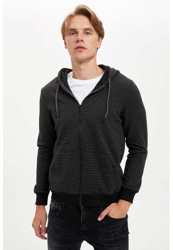 DeFacto black Man Knitted Cardigan / Bolero 73493AAB9C3DF5GS_1