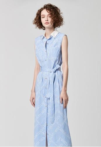 iROO multi Printed Shirt Dress CB15BAA02290C0GS_1