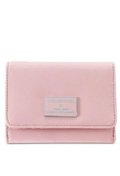 0ea805af7e4e Perllini Mel pink Faux Leather Mid-Size Wallet 42617AC66F4087GS 1