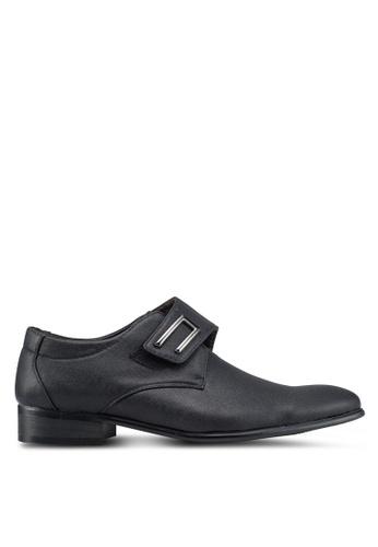 Rocklander black Formal Velcro Shoes 08EDDSHE85DE93GS_1