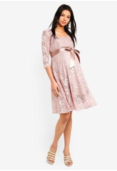 5258a135e142 Tiffany Rose Maternity Freya Dress Short HK  2