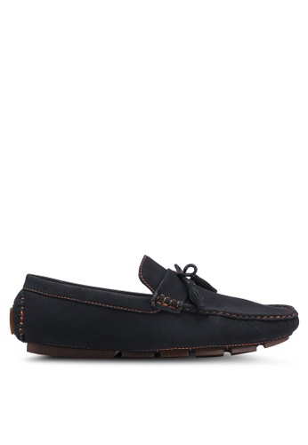 UniqTee black Tasseled Penny Loafers 5E4FASH444FCA0GS_1