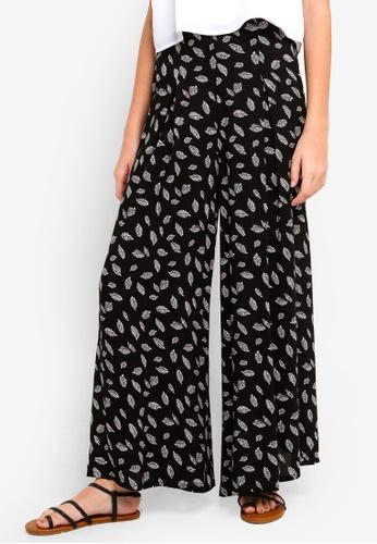 Something Borrowed black Super High Waist Flare Pants 5BE83AA6307E83GS_1