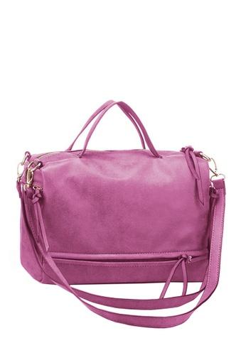 Twenty Eight Shoes pink VANSA  Simple Design Nubuck Tote Bag VBW-Tb010 DA465ACC774470GS_1
