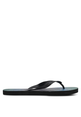 Factorie green and multi Urban Flip Flops FA880SH0SKN1MY_1