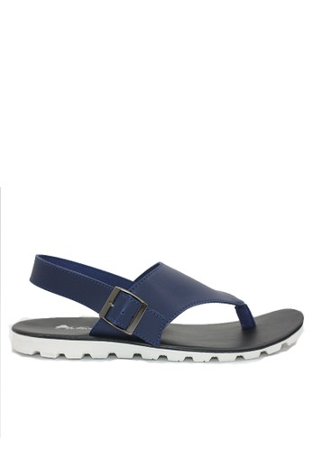 Dr. Kevin navy Dr. Kevin Men Sandals 9614 - Blue C537CSH32CCCAAGS_1