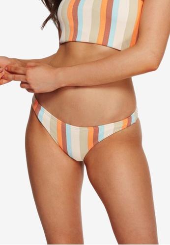 Billabong multi Rainbow Stripe Tropic Bikini Bottom 4CE51AAE17D5AFGS_1