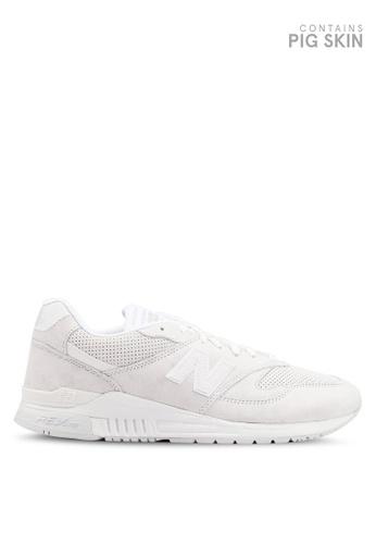 New Balance white 840 Premium Classic Shoes B9EA8SH916907AGS_1