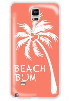 Beach Bum Matte Hard Case for Samsung Galaxy Note 4