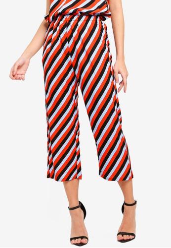 ZALORA multi Straight Pants 10F7CAA7E19321GS_1