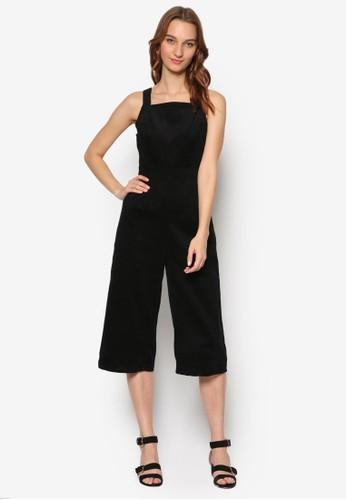 雙肩帶連身五分寬褲,esprit au 服飾, 連身褲