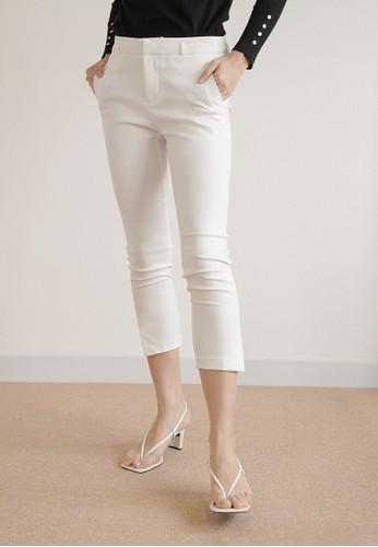 MISSISSIPPI Mississippi Celana Bahan Panjang Wanita Trouser Pant B01553M Putih DF70DAACFF333CGS_1