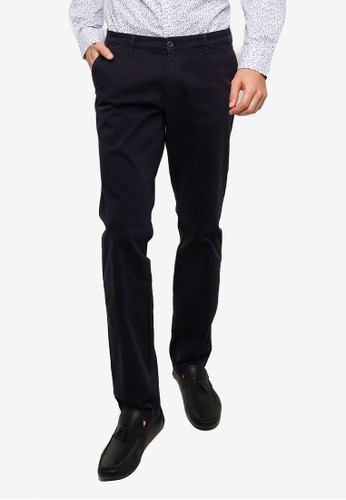 OVS navy Formal Trousers 84E03AA1D4CA11GS_1
