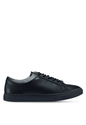 Jack & Jones black Putnik Pu Black Mono Sneakers E2DD4SHC490271GS_1