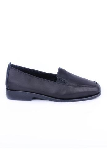 Twenty Eight Shoes 黑色 真皮工作鞋 905A1SH3276574GS_1