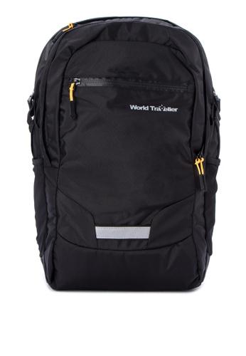 World Traveller black Dallas Backpacks WO744AC0K4CIPH_1