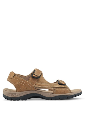Weinbrenner brown Outdoor Sandals 19E76SHC6C7D6DGS_1