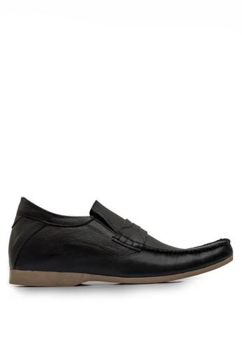 Keeve black Keeve Shoes Peninggi Badan Formal 114- Hitam E037FSH083DE9AGS_1
