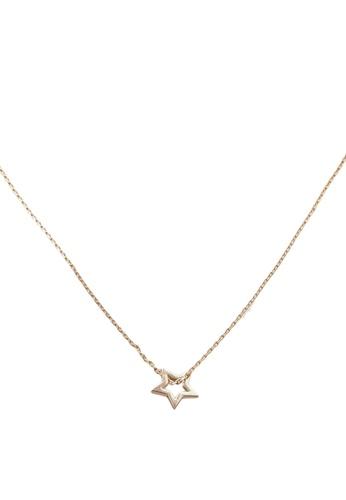 Orelia London gold Monochrome Congrats Gift Card Necklace OR747AC0SC2VMY_1