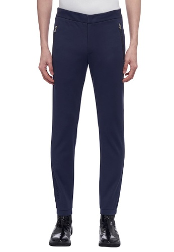 ck Calvin Klein 海軍藍色 人造絲運動褲 53471AAB6C6D32GS_1