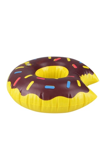 Shapes and Curves brown Donut Party Drink Floater SH408AC45AECPH_1
