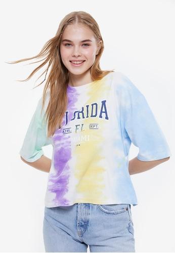 Trendyol multi Multi Color T-Shirt BD474AA5C4D247GS_1