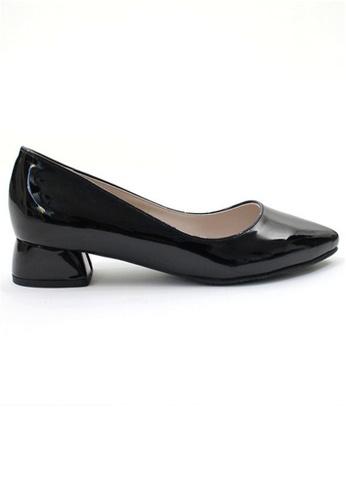 Crystal Korea Fashion black Korean's Style Simple Wild Pointed Heels CR681SH2V3L7HK_1