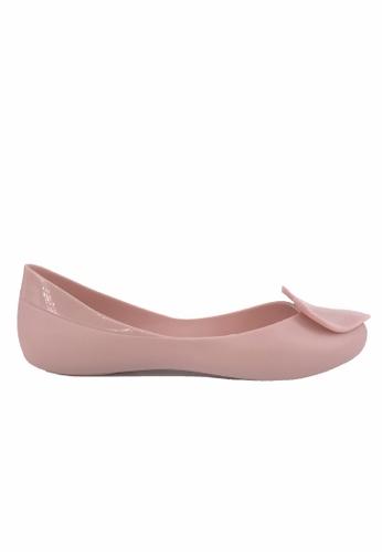 6e55fdfd3 Buy Halo Summer Heart Waterproof Flats Shoes   ZALORA HK