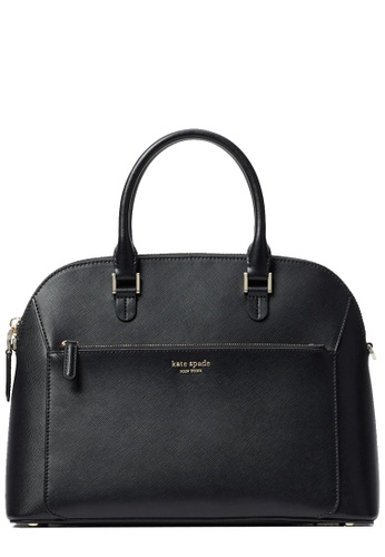 Kate Spade black Kate Spade Louise Medium Dome Satchel Bag in Black 5F6DBAC26BE83BGS_1