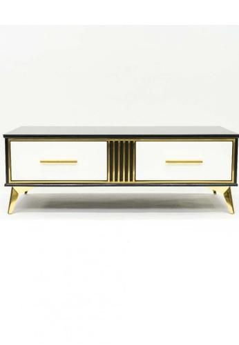 Choice Furniture gold Choice Furniture - Carita Coffee Table 24E7BHLE6B0C44GS_1