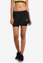 2GO black Flared Mini Skirt 2G729AA0S5V1MY_1