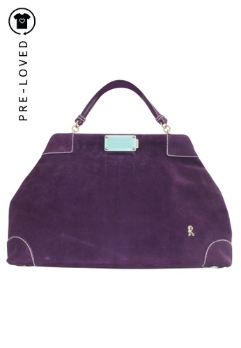 Roberta Di Camerino purple Pre-Loved roberta di camerino Purple Bag 6BCD2ACE213470GS_1