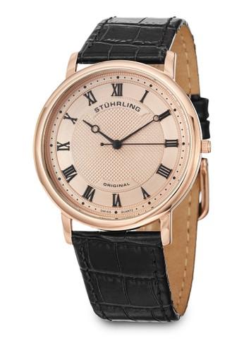 Classizalora 手錶 評價que 645 羅馬數字真皮手錶, 錶類, 皮革錶帶