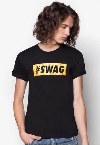 #Sesprit台灣WAG 文字印花T 恤, 服飾, 服飾