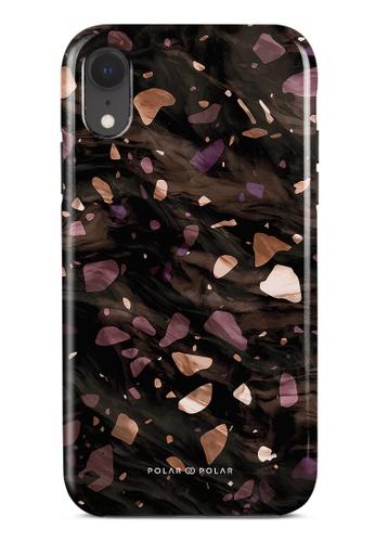 Polar Polar brown Eminence Terrazzo Gem Dual-Layer Tough Case Glossy For iPhone XR 922F2AC4CB8EE9GS_1