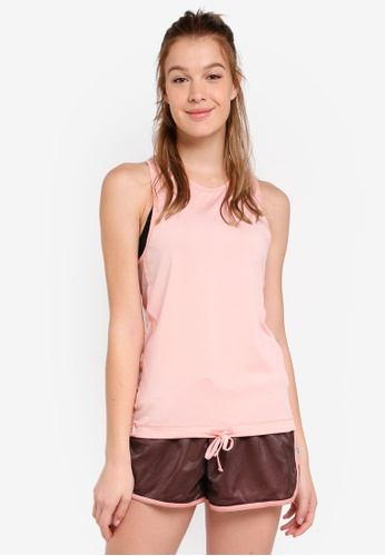 Cotton On Body pink Tie Front Tank Top 0F2A0AA801C7E6GS_1