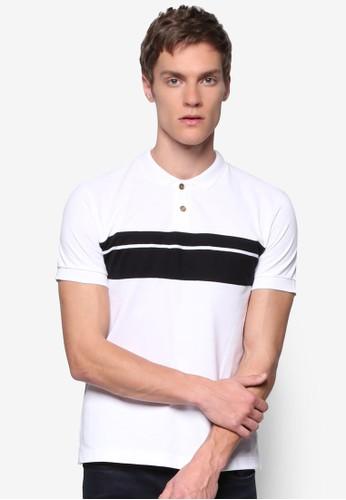 對比色塊 POLO 衫, 服zalora 台灣門市飾, Polo衫