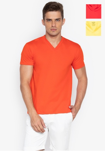 Sunjoy multi V-Neck T-Shirt (Bundle Of 3) 94A8BUS48DC4B6GS_1