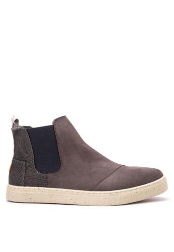Paez grey Field Chelsea Mens Boots PA524SH37DMGPH_1