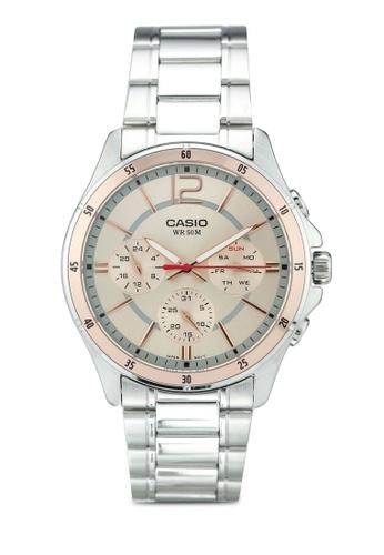 Casio silver Casio Watch MTP-1374D-9AVDF 9FD03AC7A1047DGS_1
