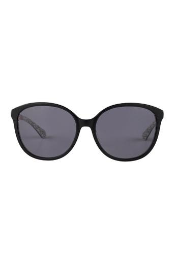 Kate Spade black Kate Spade Karlena Black Sunglasses UYYIR KA433AC16JUHMY_1