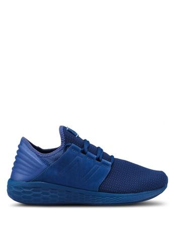 New Balance blue Cruz Future Sport Nubuck Shoes D7C01SH256370BGS_1