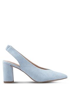a8f6050cf17 Dorothy Perkins blue Blue Everley Court Heels 804B9SHD72901FGS 1
