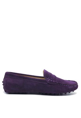 Twenty Eight Shoes 女裝真猄皮豆豆鞋M88 B66ECSHB3E481DGS_1