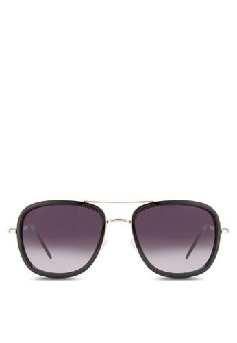 JP02165膠化方框飛行員太陽眼鏡, 飾esprit女裝品配件, 飾品配件
