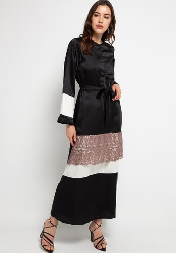 Covering Story black Ghayda Dress 544F9AACD42842GS_1
