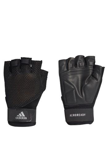 ADIDAS black 4athlts a.rdy glove unisex D71C2AC362A137GS_1