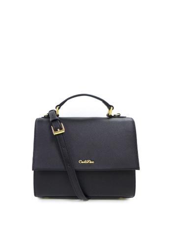 b7fa2214254d Buy Carlo Rino Carlo Rino 0304143A-001-08 Top-handle bag (Black ...